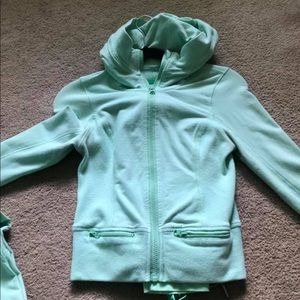 Mint Lululemon Track Suit